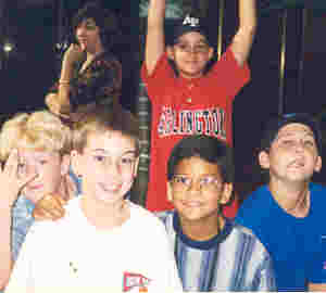 Ben Weide and Friends from RL Brown school, Jacksonville, Florida; Oct. 1998.
