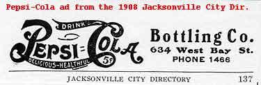 pc1908. Pepsi-Cola advertisement, 1908