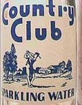 Pic. of Country Club Sparkling Water bottle
