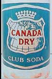 Pic. of Canada Dry Bottling Co. of Fla. Club Soda Bottle