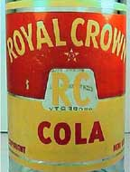 Pic. of Royal Crown Cola bottle