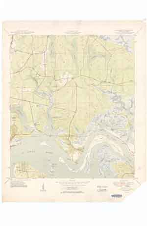 USGS Eastport 1950 Quadrangle