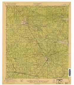 USGS Hilliard 1919 Quadrangle