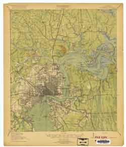 USGS Jacksonville 1918 Quadrangle