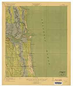 USGS Mayport 1918 Quadrangle