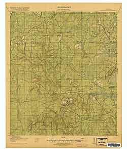 USGS Middleburg 1918 Quadrangle