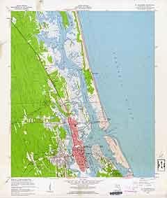 USGS St. Augustine 1956 Quadrangle