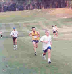 Ben Weide at Ravines Cross Country run, Middleburg, Florida; May 2000